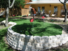 backyard golf greens golf green home backyard putting